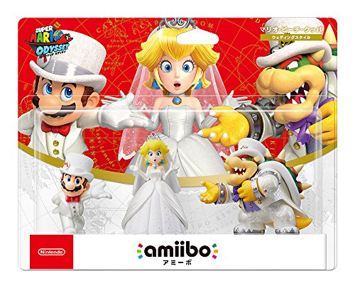 g Set (Mario/Peach/Koopa, ver. Japan Import, Super Mario Series) [video game] (Super Mario Peach Amiibo)