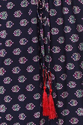Maxi-Kleid von luxury & good Dessous L Mehrfarbig