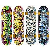 Gemgo WIN.MAX 001 skateboard classique planche ¨¤ roulettes Funboard planche en bois ABEC-7