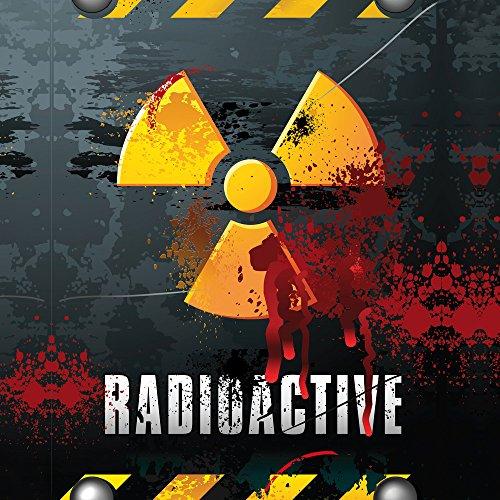 Apple iPhone SE Case Skin Sticker aus Vinyl-Folie Aufkleber Radioactive Blut Atom DesignSkins® glänzend