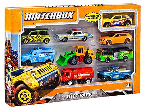 Matchbox X7111 - Spielzeugauto Geschenkset Sortiment, zufällige Auswahl, Auto Spielzeug ab 3 Jahren