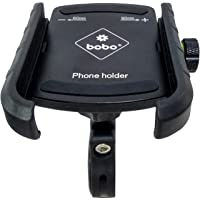 BOBO BM4 Jaw-Grip Waterproof Bike / Motorcycle / Scooter Mobile Phone Holder Mount, Ideal for Maps and GPS Navigation…