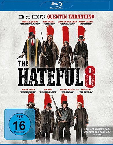 The Hateful 8 [Blu-ray] Western-filme