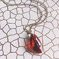 Collana Pietra Filosofale - Harry Potter and the Deathly Hallows - Color Oro e Rosso, Hogwarts
