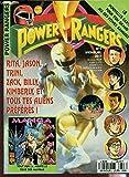 POWER RANGERS - N°3 - JUIN 1995 / RITA, JASON, ZACK, BILLY, KIMBERLY, ET TOUS LES AUTRES ALIENS PREFERES! - MANGA MANIA.