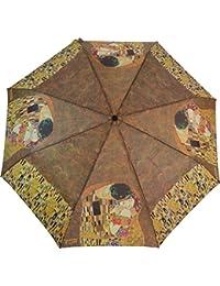 "Artbrollies Folding Umbrella - Klimt ""The Kiss"""