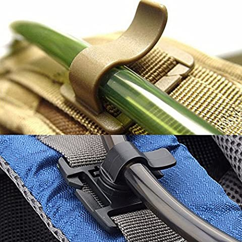 vybio (TM) táctico militar agua tubo ajustable giratorio tubo Holder Clip