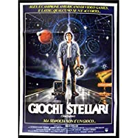 Mauvais Genres THE LAST STARFIGHTER Italian Movie Poster 39x55-1985 -, Lance Guest