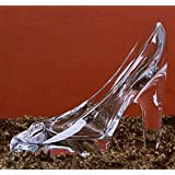 Da.Wa 1 Unid Moda Cristal Colgante de Tacón Alto Regalos de Cristal Transparente Deslizador Adornos Mujeres