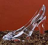 Da.Wa 1 Unid Moda Cristal Colgante de Tacón Alto Regalos de Cristal Transparente Deslizador Adornos...