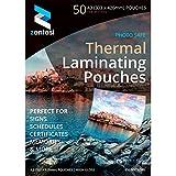 Plastificazione A3High Gloss Laminator fogli 150micron (75+ 75Micron) laminato lucido della manica–Confezione di A3 Size: 303 x 426mm Transparent High Gloss