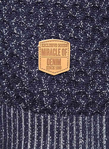 M.O.D Herren Pullover blau melange