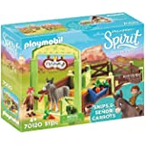 Playmobil - la Mèche et Monsieur Carotte avec Box - 70120