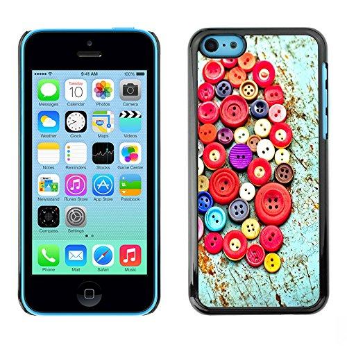 Graphic4You Stick People love drawing Design Harte Hülle Case Tasche Schutzhülle für Apple iPhone 5C Design #4