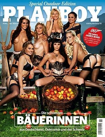 PLAYBOY 2012-11 Landlust: Die schönsten Bäuerinnen ! 007 Special: Bond Girls