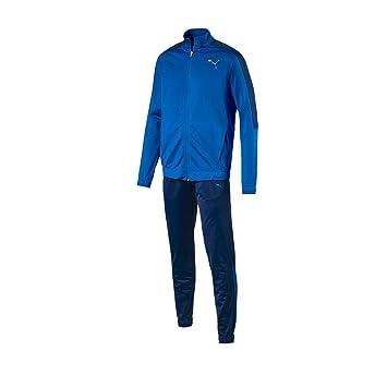 puma mens tracksuit. puma men\u0027s techstripe cl tricot tracksuit, men, suit cl, lapis blue mens tracksuit