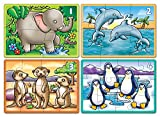 Orchard Toys Animals 4 in a Box Jigsaw Puzzles