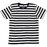 Mantis – Camiseta retro de rayas.