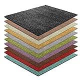 casa pura Shaggy Teppich Bali   weicher Hochflor Teppich für Wohnzimmer, Schlafzimmer und Kinderzimmer   mit GUT-Siegel   Verschiedene Größen   viele Moderne Farben (200 x 240 cm, anthrazit)