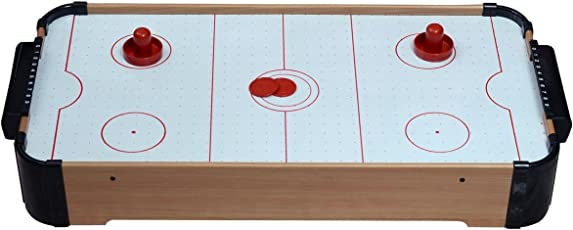 Planet of Toys Wooden Air Hockey Game, Children