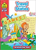 School Zone Activity Workbook-Travel The Great States - Ages 8+