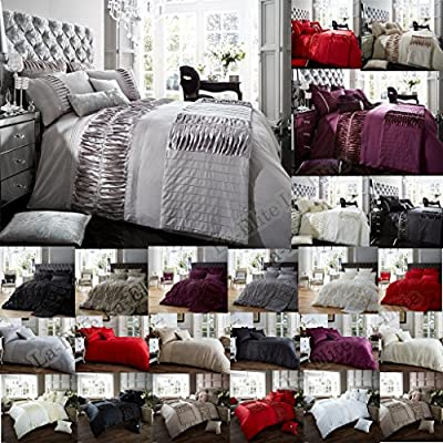 Luxury Duvet Cover Sets With Pillow cases Luxurious Bedding Printed Single Double King And Super King Size Poly Cotton Modern New Designer Style - cheap UK light store.