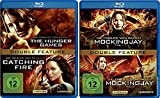 Die Tribute von Panem The Hunger Games/Catching Fire [Blu-ray] + Mockingjay Teil 1+2 [Blu-ray] alle Teile