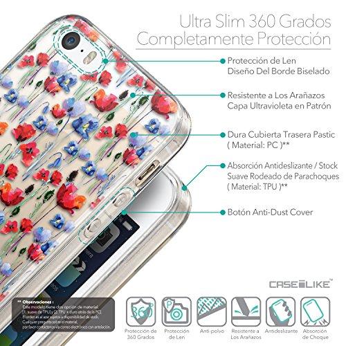 CASEiLIKE Comic Beschriftung Rosa 2912 Ultra Slim Back Hart Plastik Stoßstange Hülle Cover for Apple iPhone SE +Folie Displayschutzfolie +Eingabestift Touchstift (Zufällige Farbe) 2233