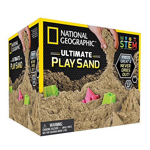 National Geographic NGSANDN6 - Arena de juego, color natural