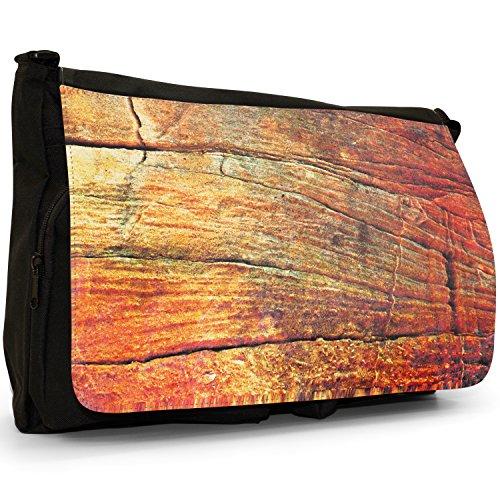 Fancy A Bag Borsa Messenger nero Rock Hard Rock Hard