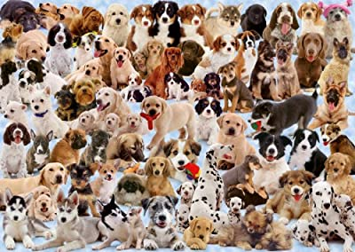 Ravensburger Dogs Galore! 1000 piece jigsaw puzzle