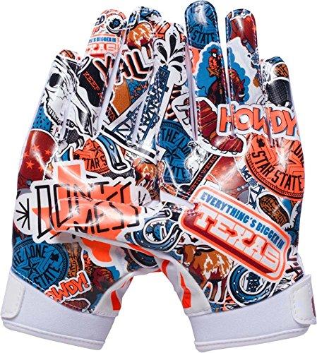 F5-Limited Edition Fußball Handschuhe, Jungen, White (104) ()