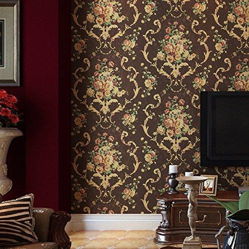 cuey-divano-retro-scuro-soggiorno-camera-da-letto-rurale-americano-grande-fiore-parati-deep-coffee