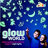#9: Glow World Make Bedtime fun with the range of different shapes of night lights with self adhesive sheets - (Ages 3+)