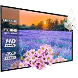 WRLSUN 120 Inch Home Theater Portable Projector Screen