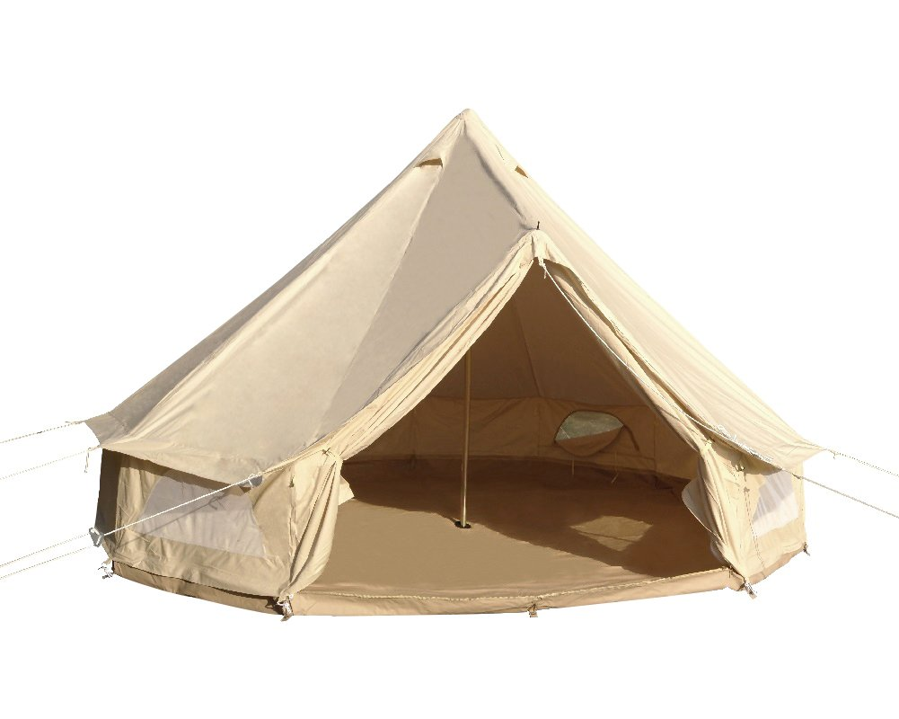 Magnificent Safaricamping Outdoor Family Camping Waterproof Bell Tent With Zipped Groundsheet And Tent Accessories Download Free Architecture Designs Itiscsunscenecom