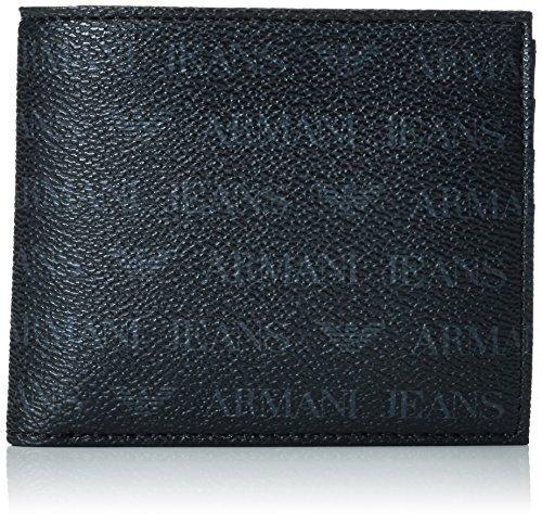 Armani Jeans  938540CC996, Portafogli  Uomo Nero Schwarz (NERO 00020) 10x1x11 cm (B x H x T)