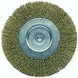 Bellota 50807-60 - Cepillo para bricolage circular (acero latonado, alambre ondulado, diámetro 60 mm)