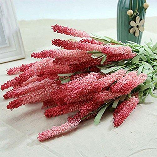 Alcyoneus Lavendel-Kunstblumen, 12Stück, als Bouquet, für den Garten und das Zuhause, zum Basteln, als Dekoration