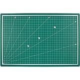 PRETEX Schneidematte RESISTANT 45 x 30 cm (A3) in dunkelgrün mit selbstheilender Oberfläche | 2 Jahre Zufriedenheitsgarantie | Schneideunterlage, Cutting Mat