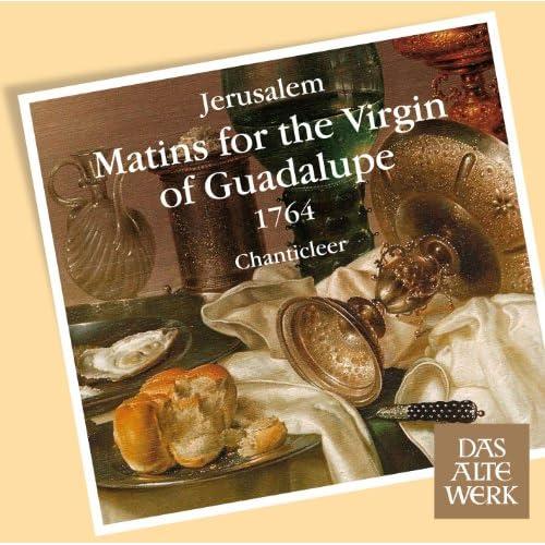 Jerúsalem : Matins for the Virgin of Guadalupe : Versículo, Padrenuestro y Absolución
