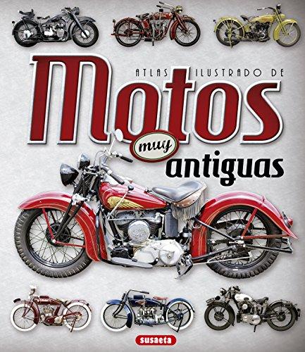 Atlas ilustrado de motos muy antiguas por Juan Pablo Ruiz Palacio
