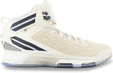 Adidas Performance Mens D Rose 6 Boost Lace Up Hi Top Scarpe da basket - Multi
