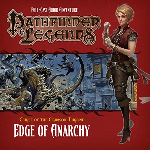 Pathfinder Legends 3.1 the Crimson Throne: Edge of Anarchy Crimson Edge