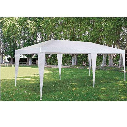 Provence Outillage 05338 Tente de Réception Blanc 3 x 6 m