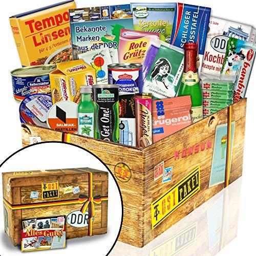 """Ostpakete \""""DDR SPEZIALITÄTEN BOX\"""" / Geschenkeset Geburtstag für Freund"""