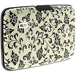 Porte Cartes Black Arabesque Ogon Designs