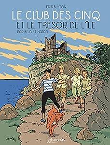 """Afficher """"Le club des Cinq et le trésor de l'île"""""""