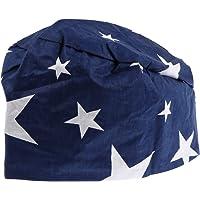 VALICLUD Cappellino da Lavoro Stampato Assorbente del Sudore Unisex Cappello di Bellezza Regolabile in Cotone Cappellino…