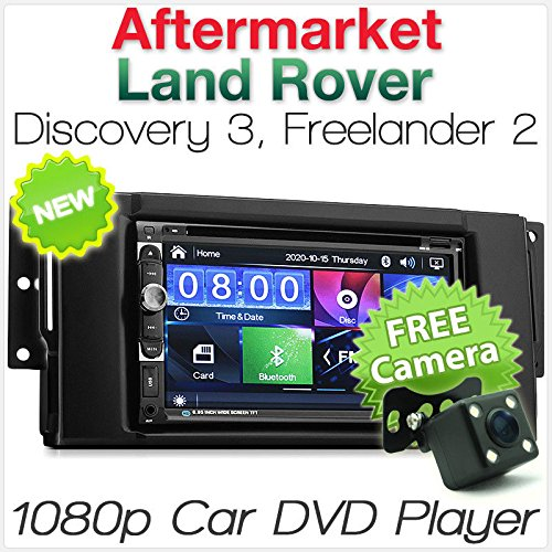 Tunez 17,78 cm Land Rover Discovery 3 Freelander 2 Auto DVD-Player USB MP3 Stereo Radio CD Land Rover Cd